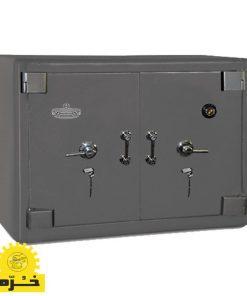 صندوق زیر ویترینی دو درب خرم